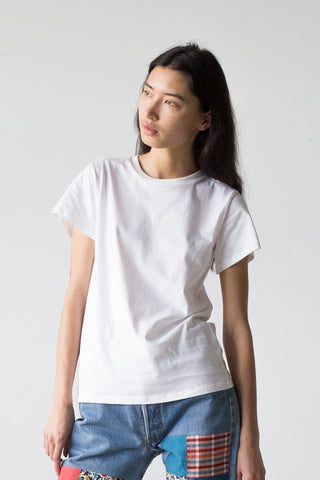 Baserange Tee Shirt in Off White | Oroboro Store | New York, NY