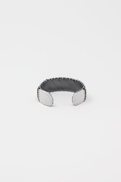 Robin Mollicone Eye Cuff in Onyx with White, Black, and Silver | Oroboro Store | New York, NY