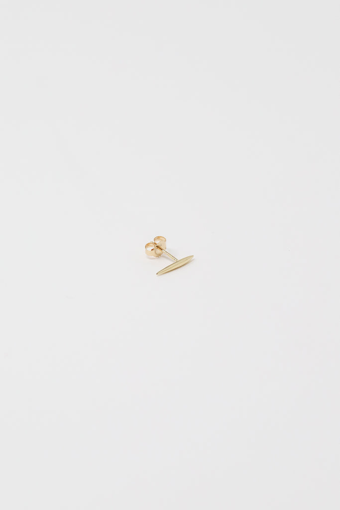 Quarry Grain Earring in 14K Gold | Oroboro Store | New York, NY