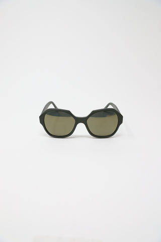 Eva Masaki Nori Frame with Bronze Mirror Lens | Oroboro Store | New York, NY