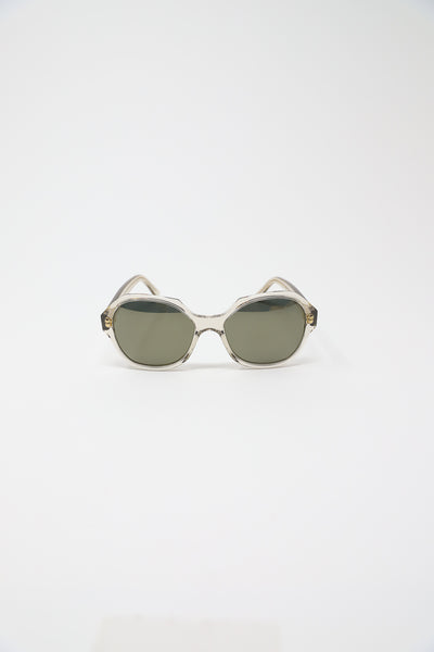 Eva Masaki Sunglasses in Rye Frame with Bronze Mirrored Lens | Oroboro Store | New York, NY