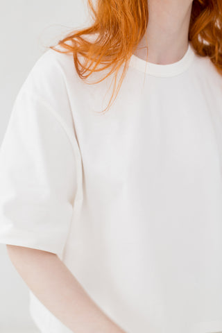 Studio Nicholson Lee Top in Optic White | Oroboro Store | New York, NY