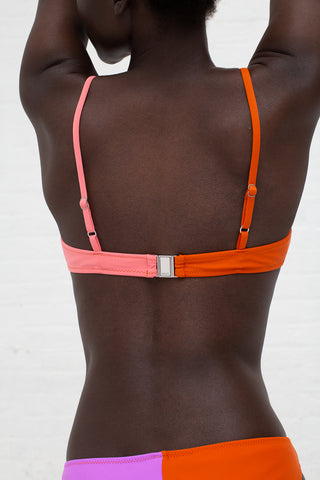 Araks Elsa Bikini Top in Terra & Confection | Oroboro Store | New York, NY