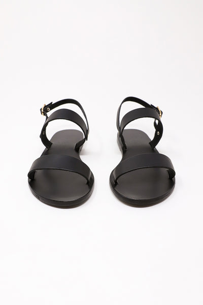 Ancient Greek Sandals Clio Sandal in Black | Oroboro Store | New York, NY