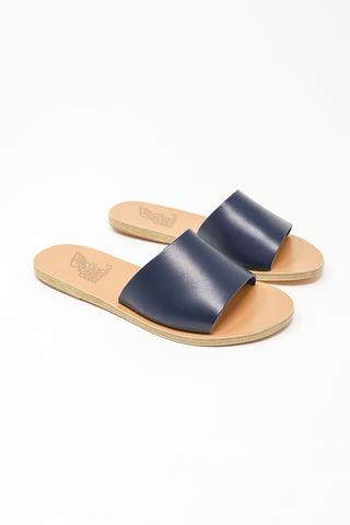 Ancient Greek Sandals Taygete Sandal in Marine | Oroboro Store | New York, NY