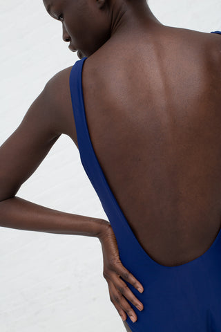 Shaina Mote Square Swimsuit in Lapis | Oroboro Store | New York, NY