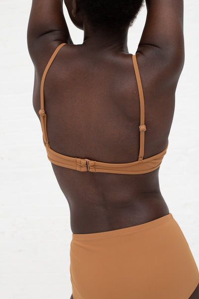 Nu Swim Mid Rise Bottom in Tobacco | Oroboro Store | New York, NY