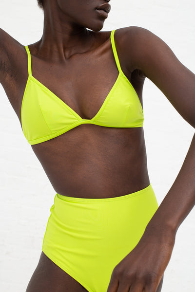 Nu Swim Basic High Bottom in Citron | Oroboro Store | New York, NY