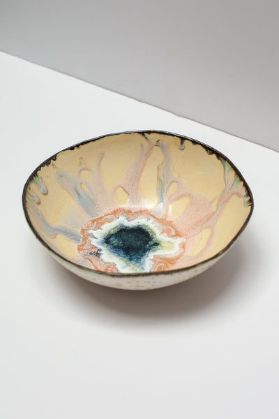 Minh Singer Medium Iceland Bowl in Blue and Pink  | Oroboro Store | New York, NY