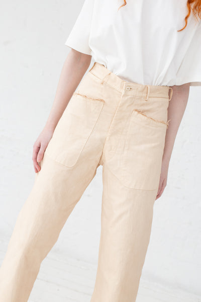 As Ever Brancusi Pant in 100% Cotton Japanese Twill Pony | Oroboro Store | New York, NY