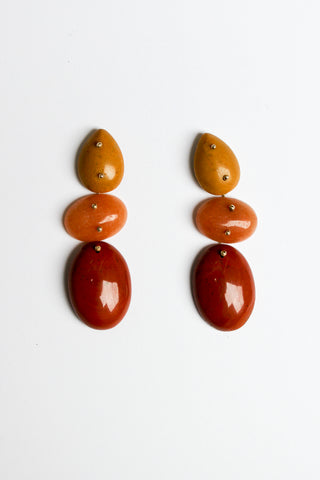 Jessica Winzelberg Jasper, Aventurine, Jasper Earrings | Oroboro Store | New York, NY