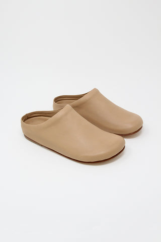 Lauren Manoogian Mono Mule in Nude | Oroboro Store | New York, NY