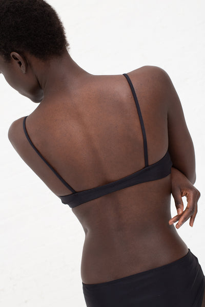 Nu Swim Stas Top in Black | Oroboro Store | New York, NY
