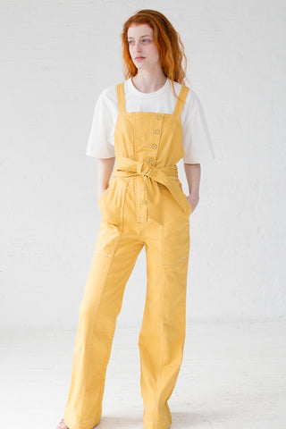 Ulla Johnson Ash Jumpsuit in Ochre | Oroboro Store | New York, NY