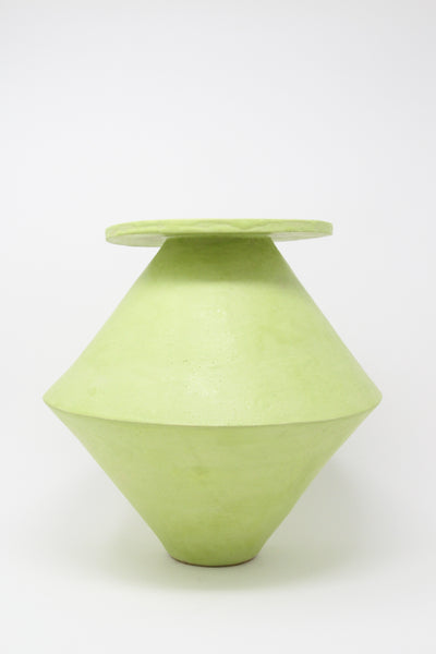 BZIPPY Jumbo Diamond Vase in Chartreuse | Oroboro Store | New York, NY