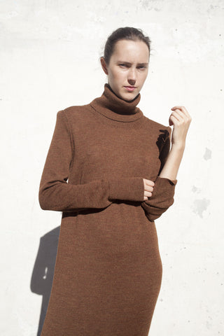A Détacher Rust Cyrilla Dress | Oroboro Store | Brooklyn, New York