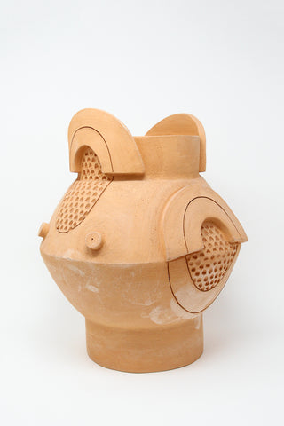 BZIPPY XL Circle Vase in Terracotta | Oroboro Store | New York, NY