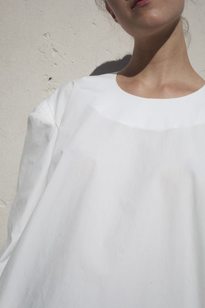 Frona Blouse in White