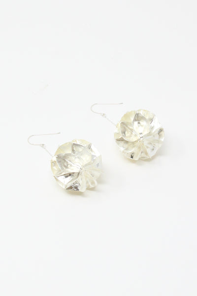 Mirit Weinstock Honeycomb Pair in Silver