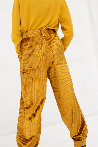 Ulla Johnson Chase Pant in Gold | Oroboro Store | New York, NY