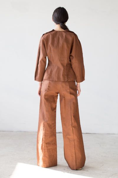 Flor Trousers in Brown
