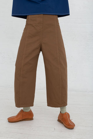 Caron Callahan Morris Pant in Canvas Tan, Front View from Waist Down, Oroboro Store, New York, NY