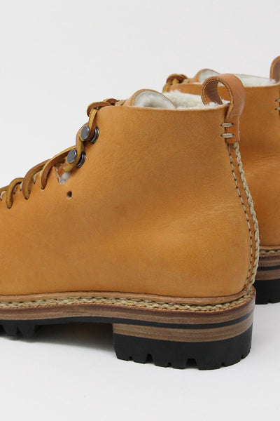 FEIT Whipstitch Hiker Wool in Tan | Oroboro Store | New York, NY