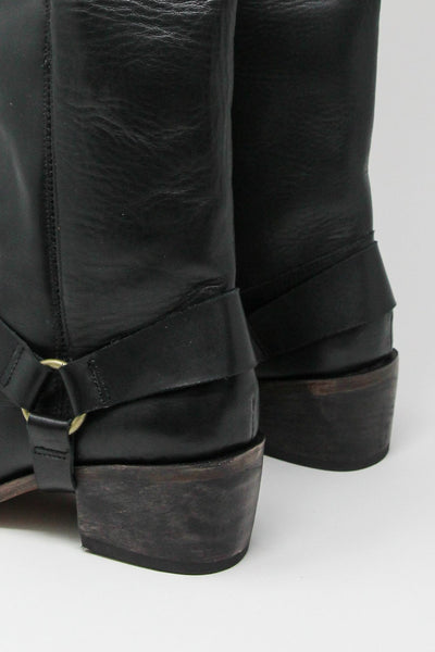 Esquivel Monica with Removable Ankle Harness in Black | Oroboro Store | New York, NY