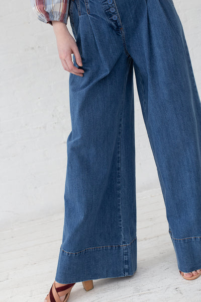 Ulla Johnson Billie trouser in Midwash | Oroboro Store | New York, NY