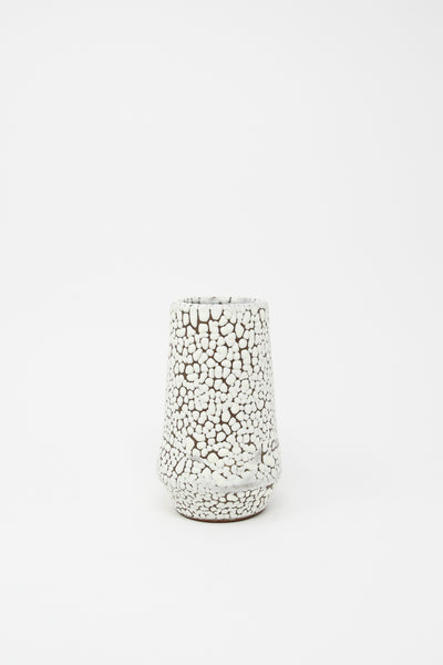 Raina Lee Taper Vase in Marshmallow | Oroboro Store | New York, NY