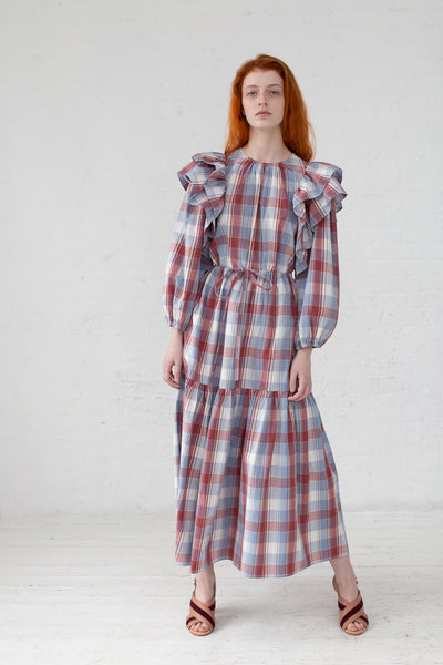 Ulla Johnson Pari Skirt in Madras | Oroboro Store | New York, NY