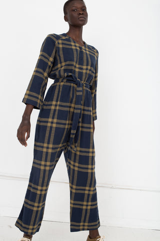 Ace & Jig Jacob Jumpsuit in Parker Front View | Oroboro Store | New York, NY