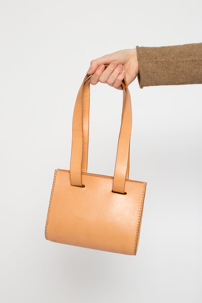 Lauren Manoogian Small Sling Bag Leather in Natural | Oroboro Store | New York, NY