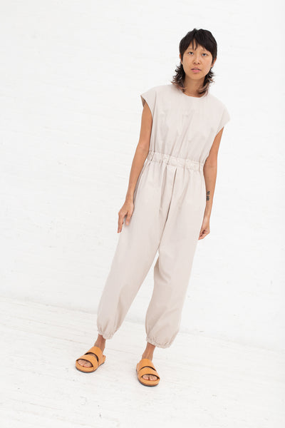 Cosmic Wonder Overalls - Organic Cotton in Greige| Oroboro Store | New York, NY