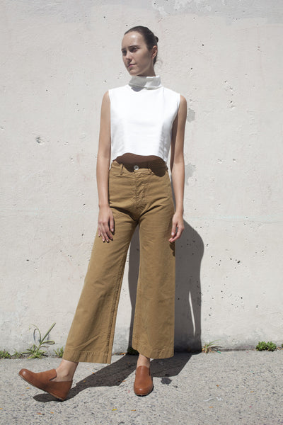 Jesse Kamm Sailor Pant in Tobacco | Oroboro Store | Brooklyn, New York