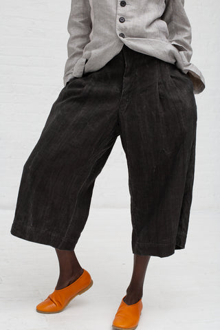 Hallelujah Pantalon in Oxford Dark Charcoal | Oroboro Store | New York, NY