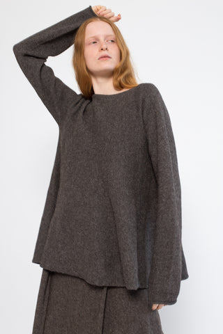 Lauren Manoogian Flare Pullover in Barnwood | Oroboro Store | New York, NY