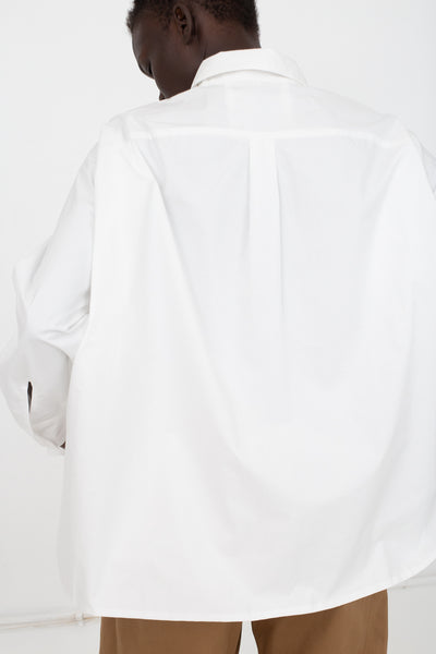 Eatable of Many Orders Log Hive Shirt in White | Oroboro Store | New York, NY
