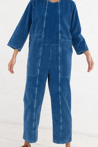 Caron Callahan Ace Jumpsuit in True Indigo | Oroboro Store | New York, NY