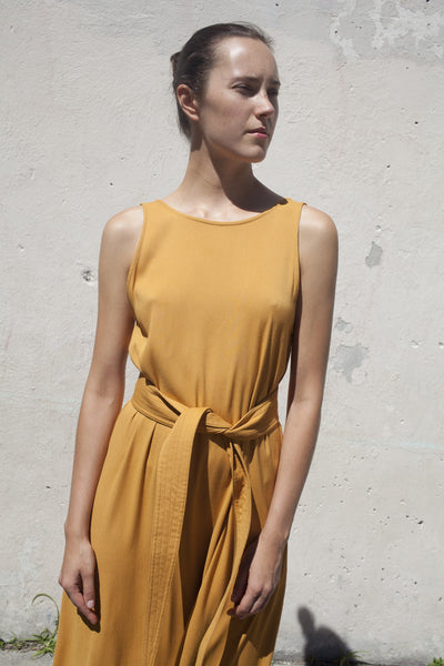 Palma Dress in Gold