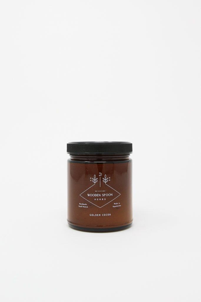 Wooden Spoon Herbs Powder in Golden Cocoar, Front View, Oroboro Store, New York, NY