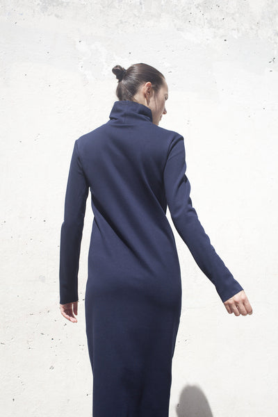 The Body Turtleneck in Navy