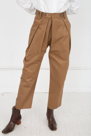 Eatable of Many Orders Bicorp Cave Trouser in Taffy | Oroboro Store | New York, NY