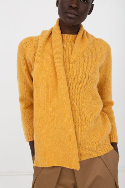 Eatable of Many Orders Wild Nest Sweater in Safran Yellow | Oroboro Store | New York, NY