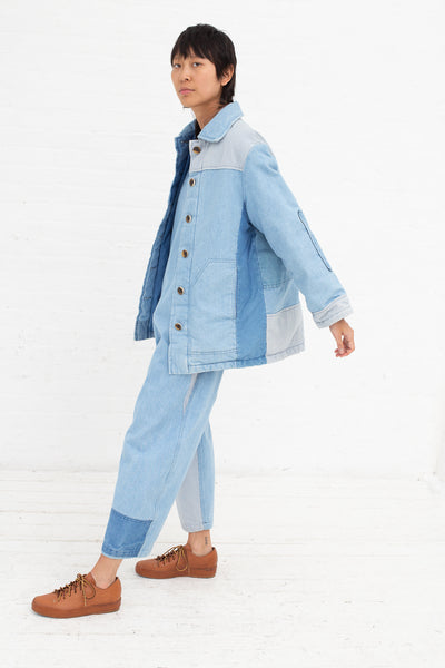 Caron Callahan Paddington Jacket in Denim | Oroboro Store | New York, NY