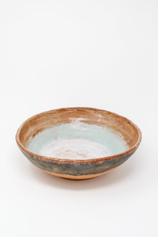 Shino Takeda Serving Bowl in Pond , Oroboro Store , New York, NY