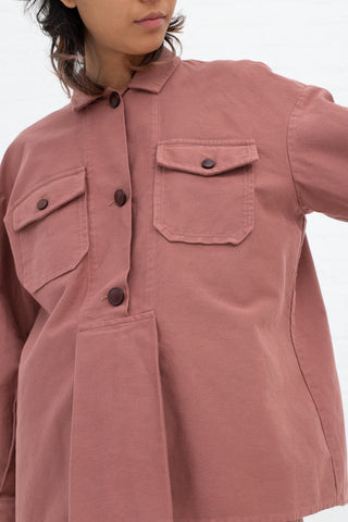 Caron Callahan Jasper Top in Rose | Oroboro Store | New York, NY