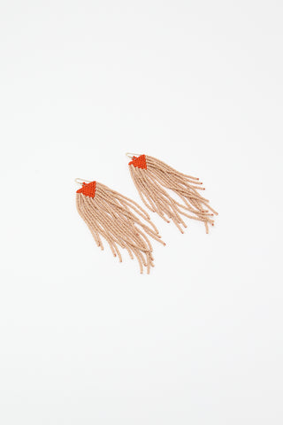 Salihah Moore Jessi Earrings, Front View Flat Image, Oroboro Store , New York, NY