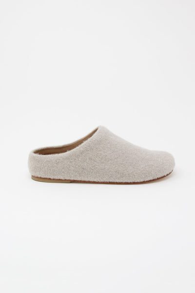 Lauren Manoogian Mono Mule in Oatmeal side view