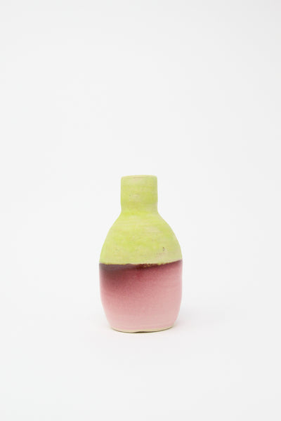 Raina Lee Bud Vase in Lime Green and Pink II